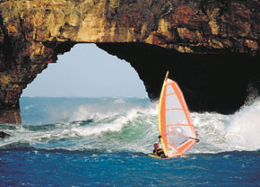 Hole in the Wall wind surfing