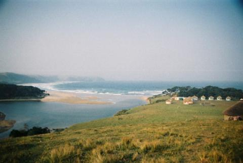 Beautiful Bulungula: the Bulungula river mouth