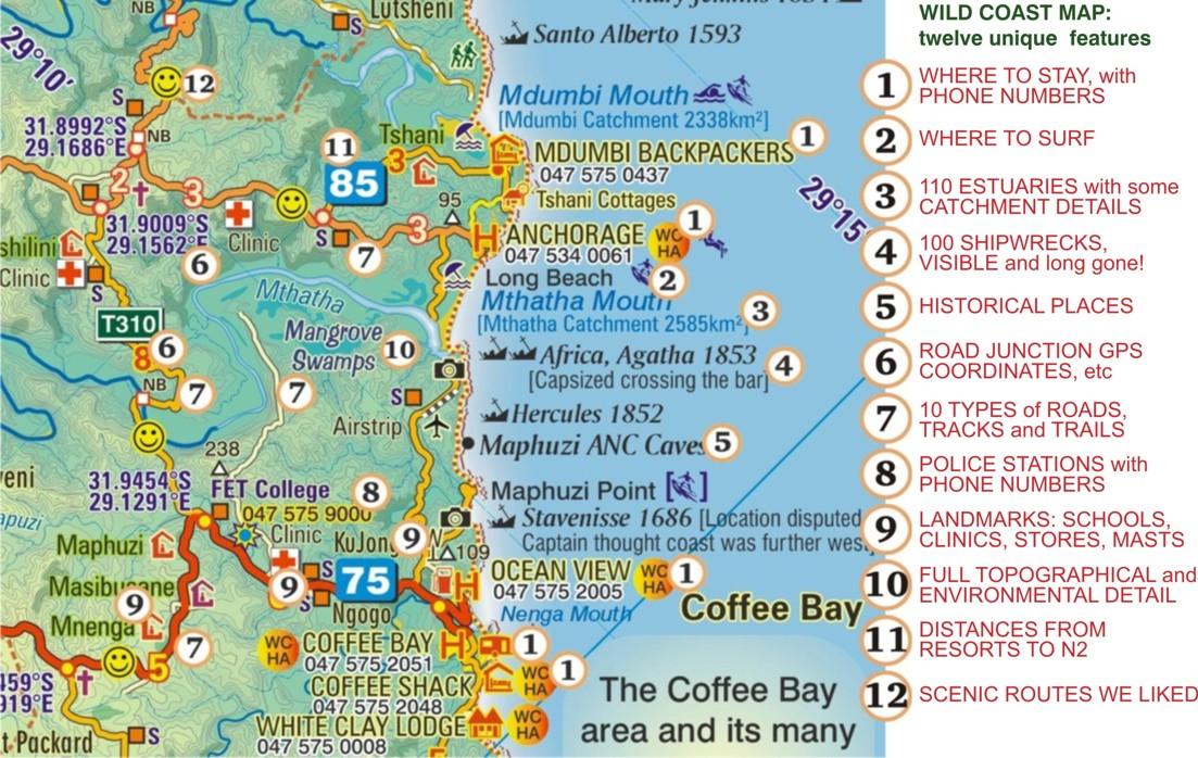 Wild Coast South Africa Pictures  CitiesTipscom
