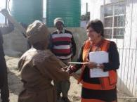 Receiving R1,000 from Gugu
