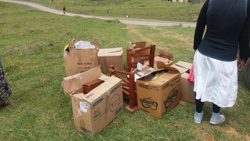 Donation of materials from Buccleuch Montessori