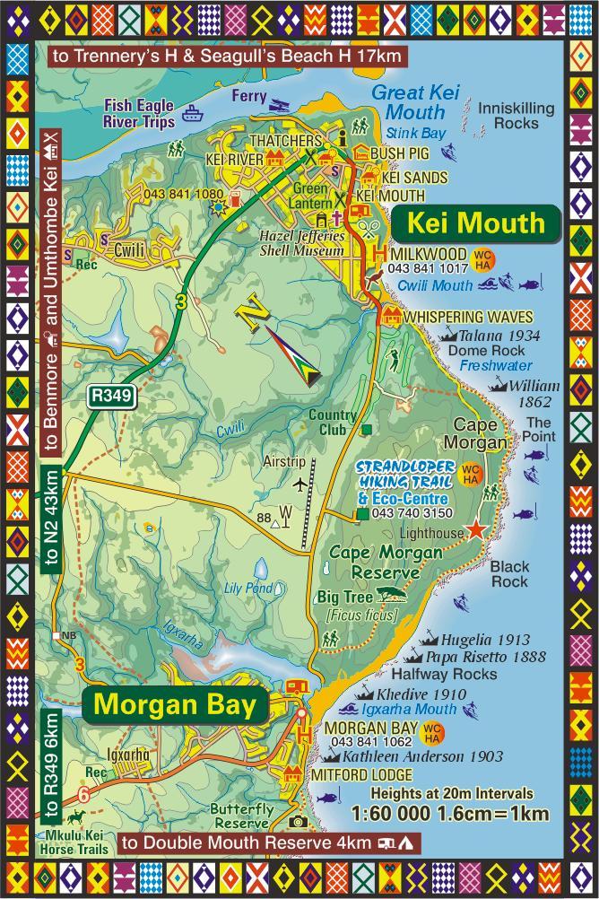 Morgan Bay South Africa Map Kei Mouth   Morgan Bay Map | Wild Coast