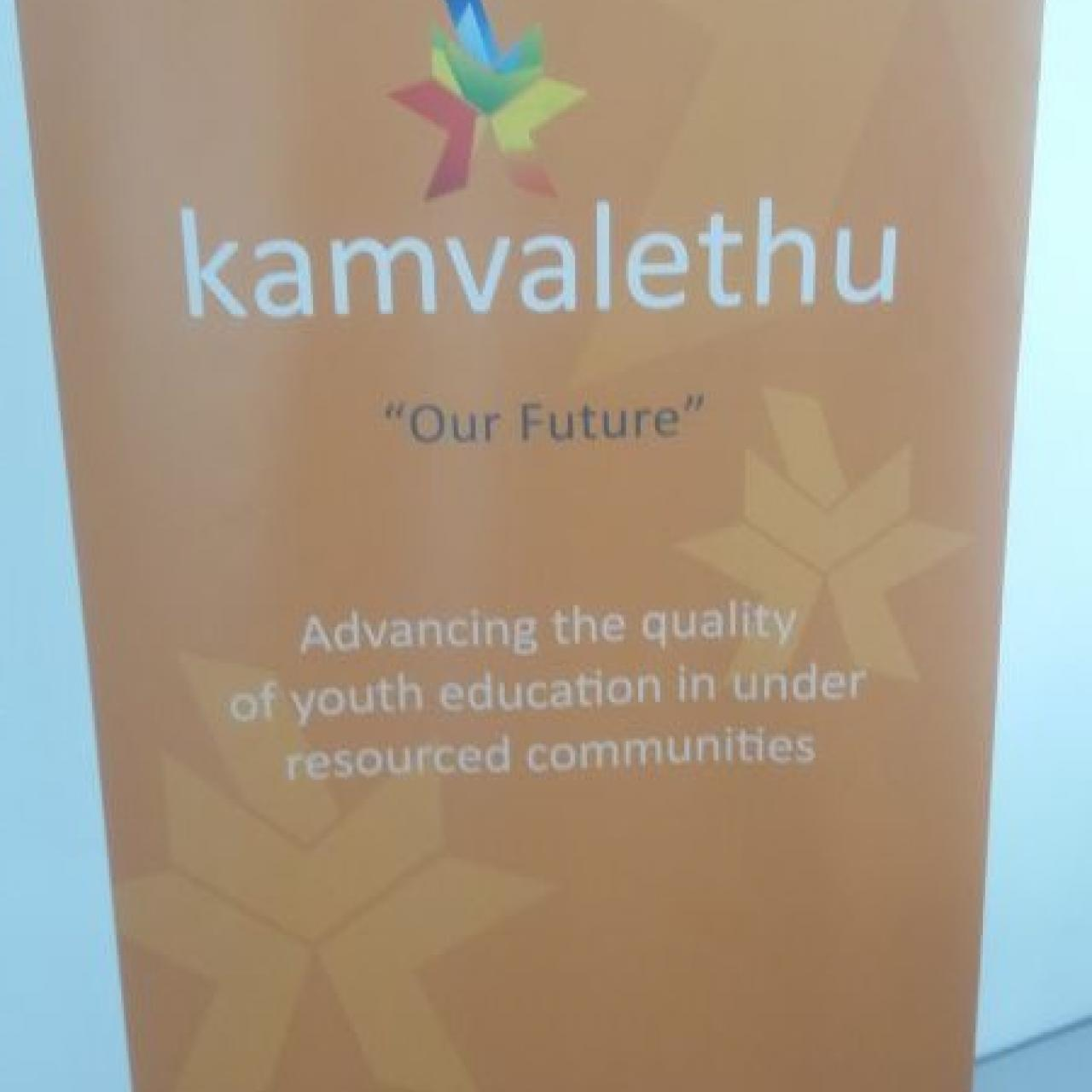 Thank you Kamvalethu for the wonderful support