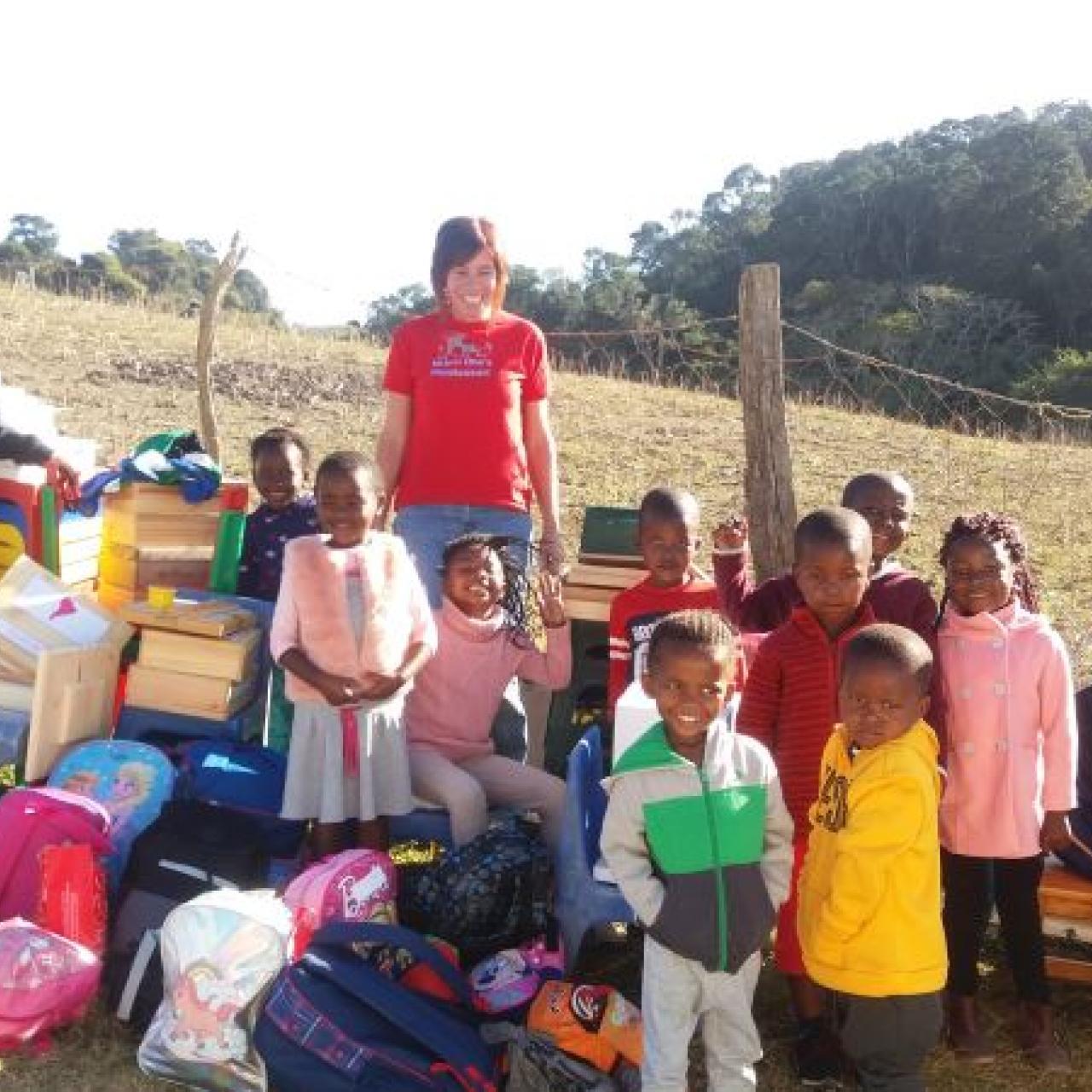Delicia and family from Garden Road Montessori