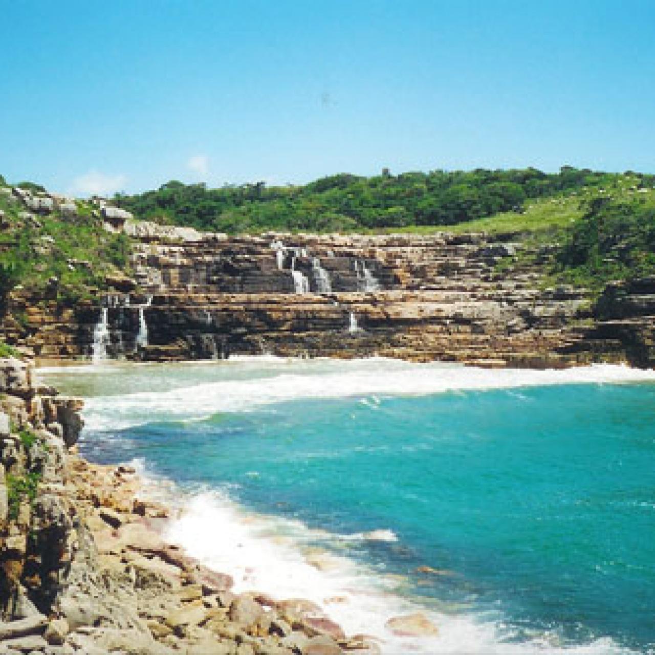 Mkambati Waterfall