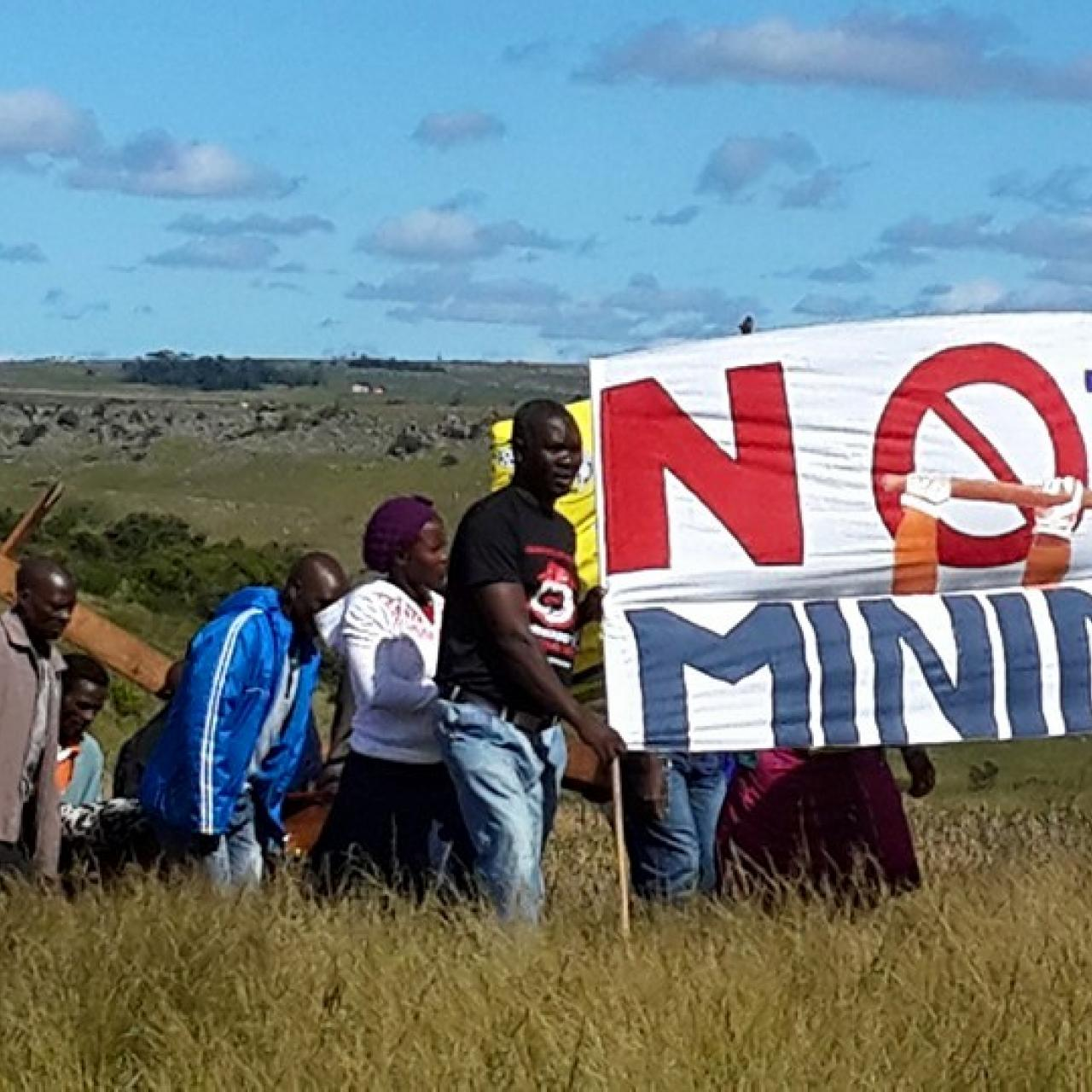 No Mining Protest 2008
