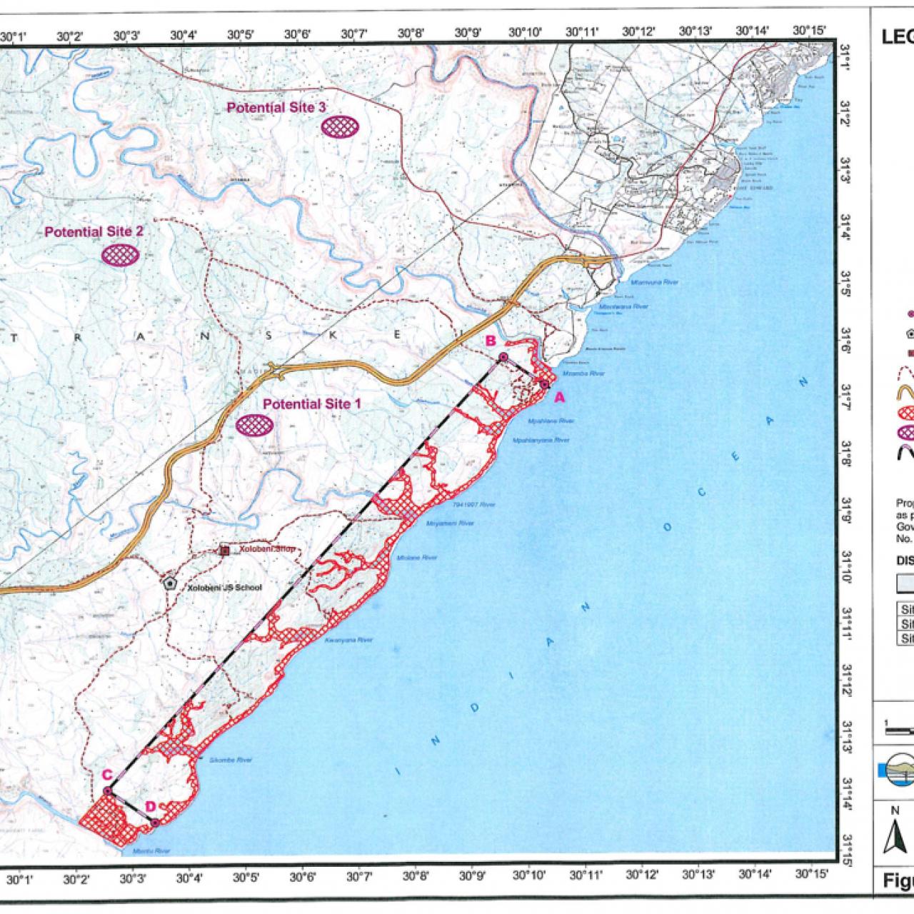 22km proposed strip mine at  Xolobeni