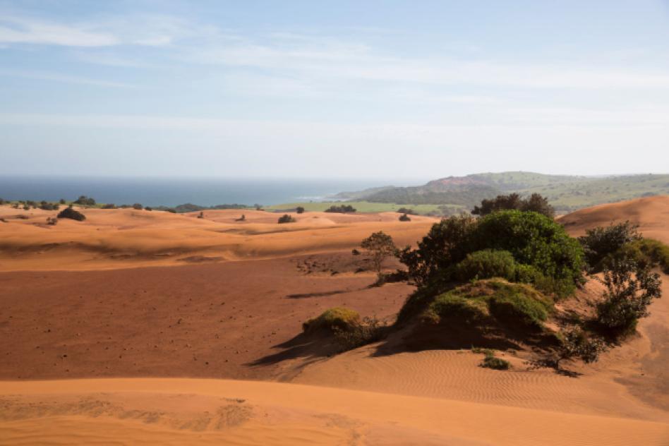 Xolobeni sand dunes
